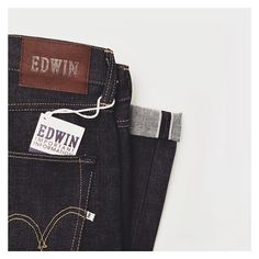 We've just had a huge @edwineurope delivery! Including the ED-55 Red Selvage #Edwin #UnionClothing #Denim