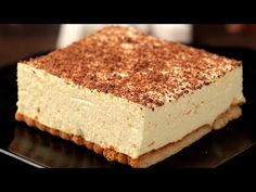 10 minutes and only two preparation steps. Vanilla Cake worthy of the holiday table. Food Cakes, Bakery Cakes, Easy Cheesecake Recipes, Cheesecake Bites, Chocolate Cheesecake, Pumpkin Cheesecake, Pie Dessert, Dessert Recipes, Romanian Desserts