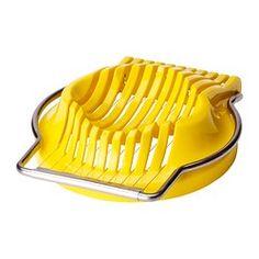 IKEA - SLÄT, Eierschneider, Leichte Reinigung durch abnehmbaren Stahlrahmen.