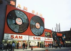 "60s record stores | ... my first experience with a ""record store"" in the late 50s/ early 60s"