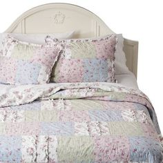 Simply Shabby Chic® Ditsy Patchwork Quilt - Multi for daughter's room re-do
