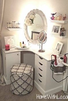 Super Cool Makeup Vanity Table with Lights picture 3