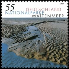 Deutschland 2004 - Nationalpark Wattenmeer German Stamps, Postage Stamps, World, Vintage, Beautiful, The World, Germany, National Forest, Nature