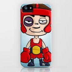 Winning boxer iPhone & iPod Case by Jordygraph - $35.00