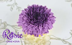 Rosie shows you a great and easy to pipe Buttercream Chrysanthemum. See hhtp://www.facebook.com/rosieoriginals for more decorating ideas and make sure that y...