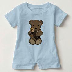 Teddy Loves Teddy! http://ift.tt/2fjuDll #teddylove #theodoreroosevelt #teddybearorigin #babyromper #babyshowergift #personalizedgift