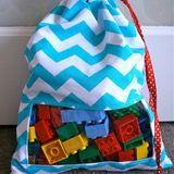 Peek-a-boo Toy Sack: Make It Perfect