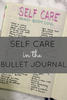 Self Care in the Bullet Journal (Cheat sheet and ideas!) http://productiveandpretty.com/self-care-bullet-journal/?utm_campaign=coschedule&utm_source=pinterest&utm_medium=Jennifer%20Grayeb&utm_content=Self%20Care%20in%20the%20Bullet%20Journal%20%28Cheat%20sheet%20and%20ideas%21%29