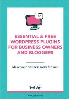 Essential and Free Wordpress plugins for bloggers and business owners! Want to step up your blogging game and get serious about your business! Use these plugins to automate your business and blog and let it do the dirty job for you! #businessblog #businessblogging #blogging #wordpress #wordpressplugins #plugins #websitedeveloper #webdeveloper #websitedesigner #getseriousaboutbusiness