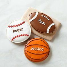 Giant Sports Cookies #williamssonoma