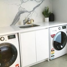 Laundry space goals via @interior_vibe ft our LG washer combos👌🏻👌🏻 Shop a participating LG Washer or Dryer before October 2nd and receive up to a $300 Cash Card! #thatsbetta #shoplocal #golocal #lg #lgaustralia #promo #laundry #laundrystyle #interiors #homedecor #home