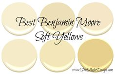 If you are looking for a paint colour for your walls that's not beige or gray but can still function as a neutral, then take a look at some of these gorgeous soft yellows from Benjamin Moore.…