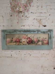 Painted Cottage Chic Shabby Romantic Rose by paintedcottages The Best of shabby chic in - Home Decoration - Interior Design Ideas