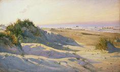 afbeeldingen duinlandschap | The Dunes Sonderstrand Skagen by Holgar Drachman
