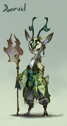 OVOPACK : this character would be suitable for a forest environment. this will help me design my forest animal