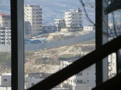 Occupation Landscape: Palestine Territories from the edge of Mt. Scopus, Hebrew University in Jerusalem