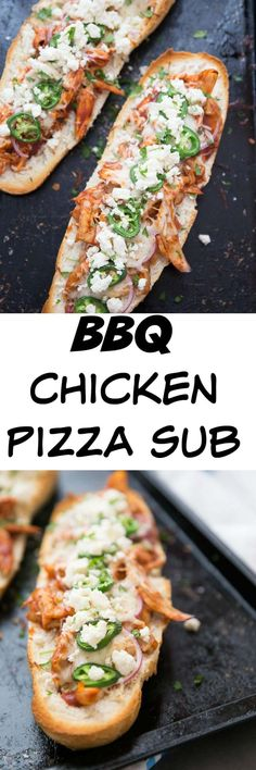 BBQ chicken pizza su