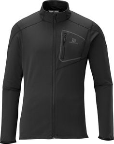 DISCOVERY FZ MIDLAYER M - Midlayers - Clothing - Trail Running - Salomon South Africa