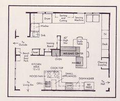 The Flower Kitchen Floor Plan