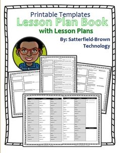 Lesson Plan: Customizable Templates- Lesson... by Satterfield-Brown Technology | Teachers Pay Teachers