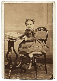 Citation: Louise King Cox as a child., ca. 1868 / C.H. Reutlinger, photographer. Allyn Cox papers, Archives of American Art, Smithsonian Institution.
