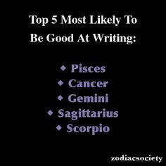 I love my Sun sign! Scorpio ♥ *Note: The creator of these photos (ZodiacSociety) has stated that these aren't listed in any specific order.