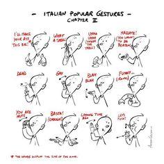 PepeMare: Italienische Körpersprache 2/3
