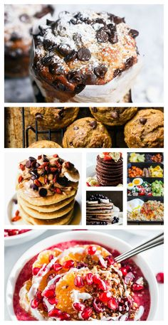 Healthy breakfast recipes, 20 healthy breakfast recipes you will want to actually get out of bed in the morning! Healthy Fast Food Breakfast, Clean Eating Breakfast, Clean Eating Dinner, Healthy Snacks, Healthy Recipes, Healthy Life, Skinny Recipes, Breakfast Time, Healthy Living