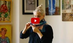 3 Fresh Ways to Wear a Scarf (In Less Than 1 Minute)