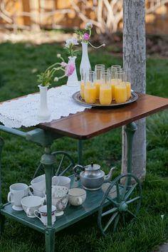 Bar Cart Brunch Ideas!