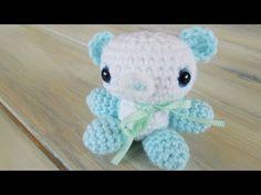 How To - Crochet Amigurumi Baby Shower Bears