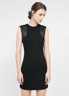Zip shift dress - Women | MANGO
