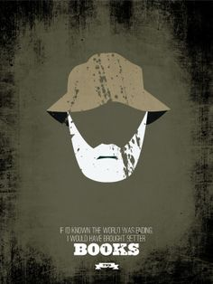 The Walking Dead Minimalist Prints by Ryan McArthur, via Behance