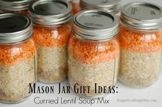 If you are looking for a great mason jar gift idea this holiday season, then I have one for you!  For this one, you need just a few dry ingredients to make a Cu…