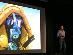 Ed Viesturs discusses supplemental oxygen at the American Alpine Club in Golden, CO ©2012 Middle Aged Ski Bum