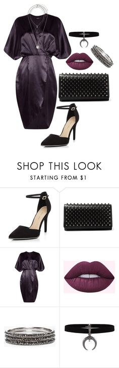 """""""Untitled #602"""" by spectre11 ❤ liked on Polyvore featuring New Look, Christian Louboutin, Boohoo, Chico's and Miss Selfridge"""