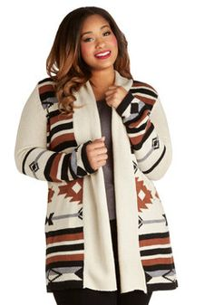 Literary Evening Cardigan in Plus Size, #ModCloth