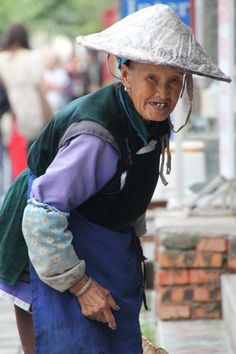 Old lady #dali #china #chinese #lady #portrait