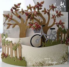 ...Just enjoy the little things in life...: Bendi fold card.