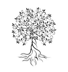 tree logo design - Olive tree logo design -Olive tree logo design - Olive tree logo design - Spring tree green for your design Stock Vector Tree Of Life Art Print by Adriana Orellana - X-Small Flowers Temporary Tattoo on . Tree Tattoo Designs, Tree Designs, Tattoo Ideas, Tattoo Life, Tree Of Life Tattoos, Logo Arbol, Tree Of Life Logo, Tree Of Life Symbol, Branch Drawing