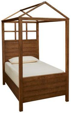 Magnolia Home-Magnolia Home-Magnolia Home Twin Playhouse Canopy Bed - Jordan's Furniture