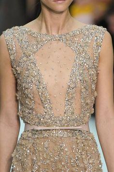 elie saab haute couture, spring 2012 details