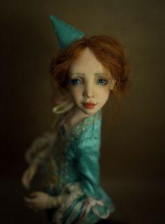 Handmade OOAK doll by Romantic Wonders Ooak Dolls, Art Dolls, Polymer Clay Dolls, Handicraft, Romantic, Handmade, Decor, Craft, Hand Made
