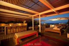 CASA MODEL has a modern architecture and chic and elegant interior decoration in downtown Playa del Carmen