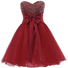 Dresstells Short Homecoming Dress Sweetheart Organza Prom...