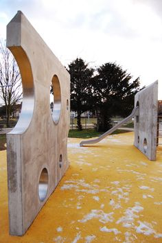Normand Park, London - Playground Walls. Click image for full profile and visit the slowottawa.ca boards >> http://www.pinterest.com/slowottawa