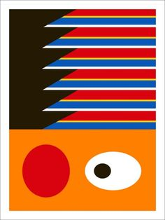 Ernie, Deconstructed - A bunch of these together would be cute in a kids room!
