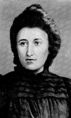 """""""Freedom is always and exclusively freedom for the one who thinks differently.""""  Rosa Luxemburg"""