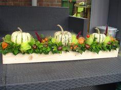 herfst tafel bloemstuk