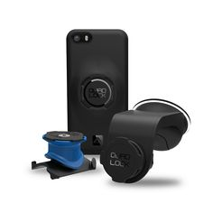 Quad Lock mount for bike, car, belt and armband (gym). Finally, a complete solution for keeping my phone stowed and within reach wherever I am.